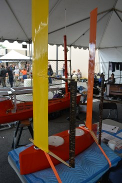 Scale prototype for using wingsails