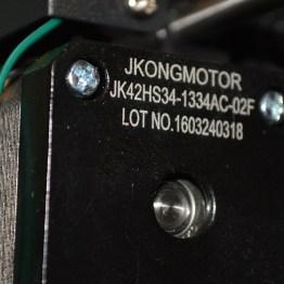 NEMA 17s for all motors (except Z)