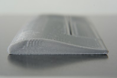Printed wing, body end