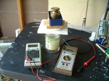 Measuring the capacitance