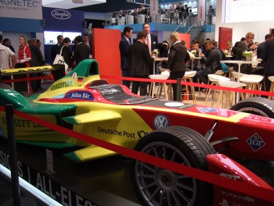One of Three Fancy Race Cars: This one Electric