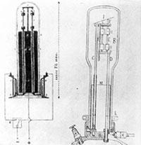 Alexander Lodygin's light bulbs
