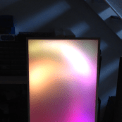Acrylic Sheet, Spaced Farther Away