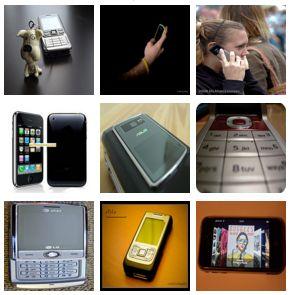 ImageNet sample cellphone images