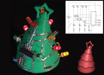 SurfCuit 3D Christmas tree circuit