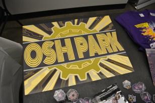 OSH Park PCB sign
