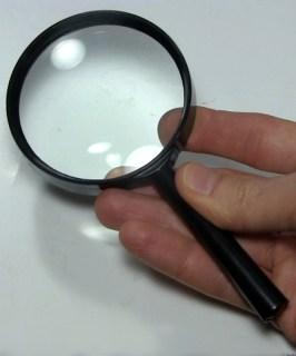 Original magnifying glass