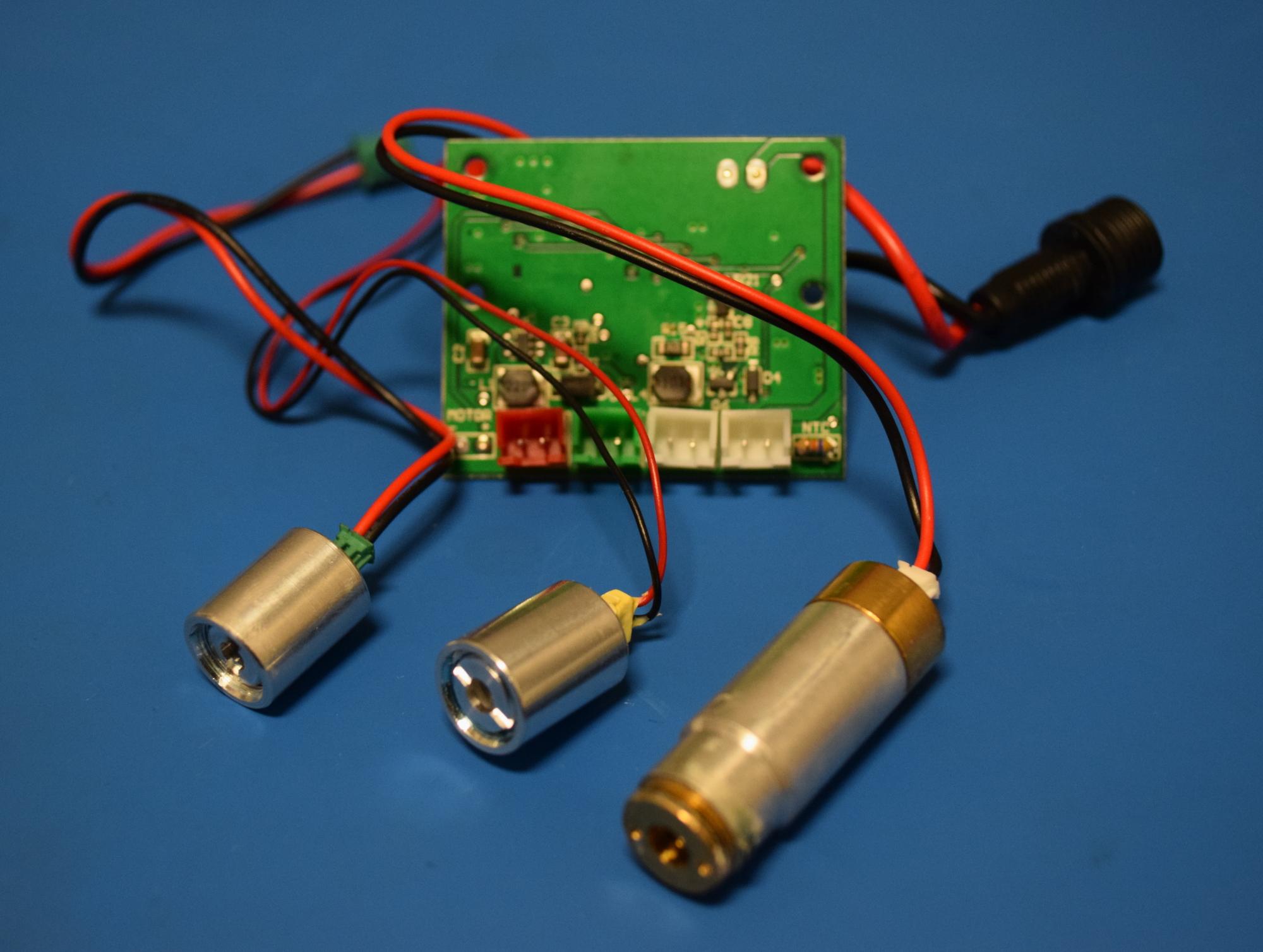 Teardown: What's Inside A Christmas Laser Projector? | Hackaday