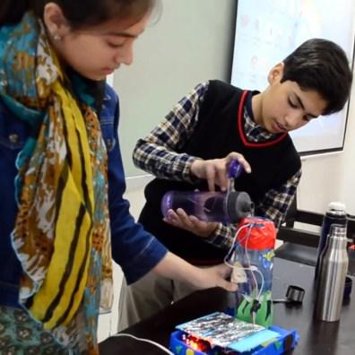 Haya and Taha water level sensor