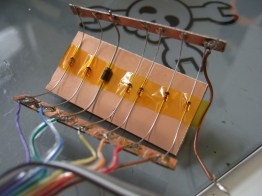 The PCB test, before.