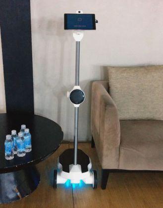 Ohmni 3d printed telepresence robot