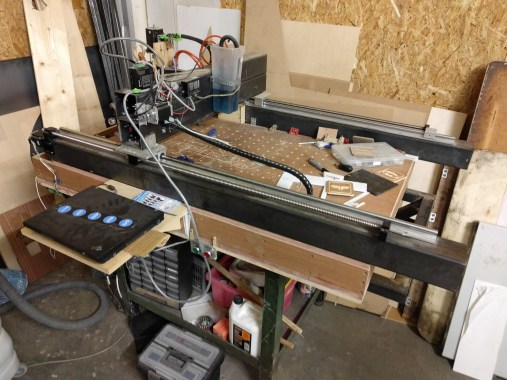 DIY CNC router (heavy metal!)