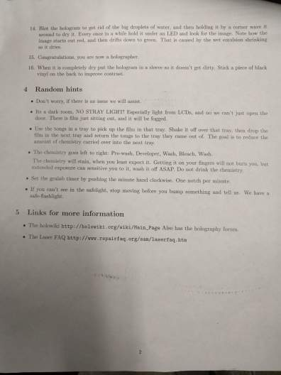 Tommy Johnson Holography Guide Pg2