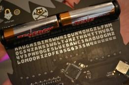 Secret codes!