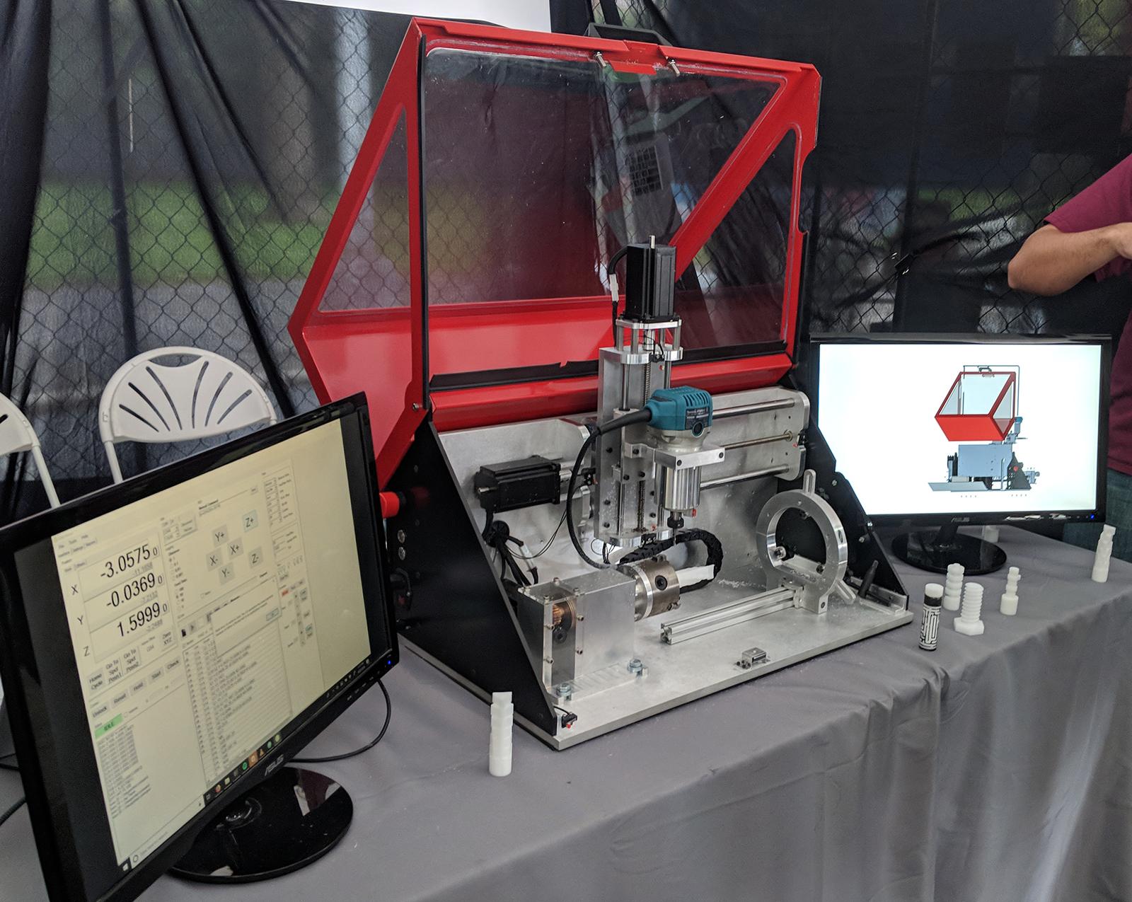 A Rotary Axis CNC Machine   Hackaday