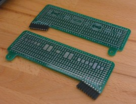 Expansion boards (front and back)