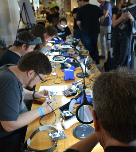 Competitive soldering