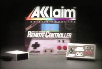 Acclaim Remote Controller Ad Still 1989