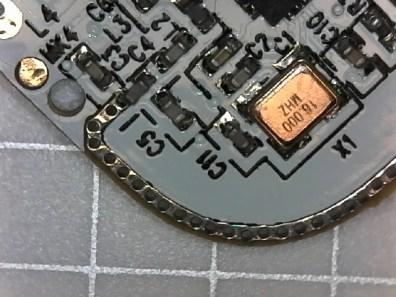 Antenna in Cube tracker