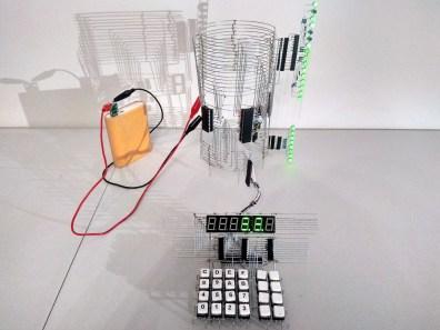 z80 computer as a sculpture.