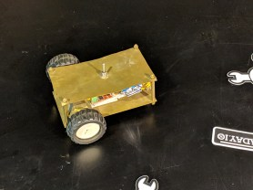 Small cellphone-controlled bot the size of playing cards