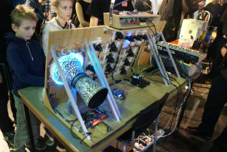 Tonlicht instrument, from behind