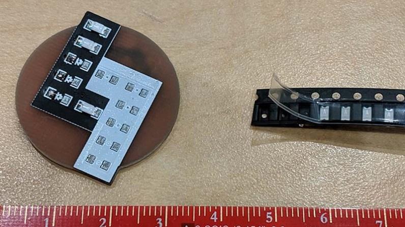 LayerOne Logo LED kit badge LEDs