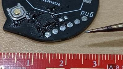 LayerOne Logo LED kit badge MCU