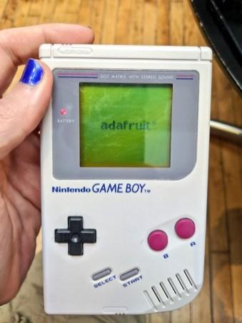 Adafruit + GameBoy = win