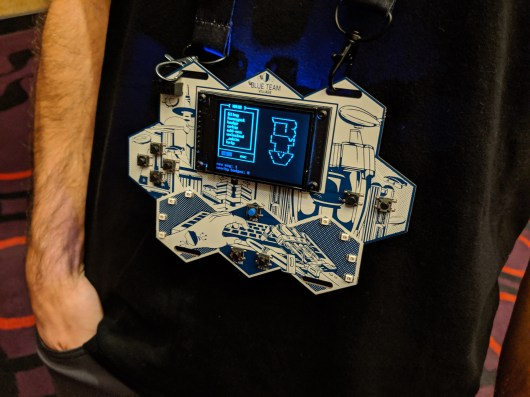Blue Team Badge