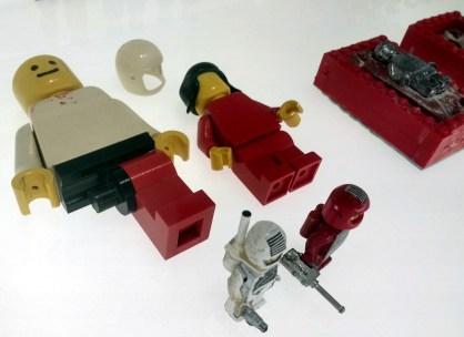 More prototype minifigures.