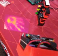 I got my hot little hands on Digi-Key's FLIR projector