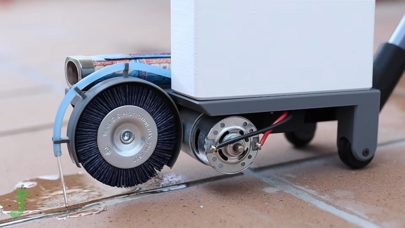 diy grout cleaning machine does a good