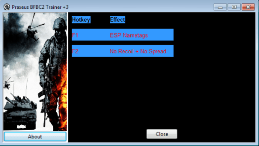 Emulator Nexus BFBC2 Trainer