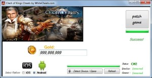 Clash of Kings Cheats – Gold Hack