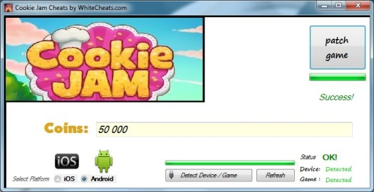 Cookie Jam Cheat Tool