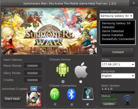 Summoners Wars Hack Online