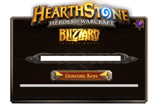 Hearthstone: Heroes of WarCraft Cd key