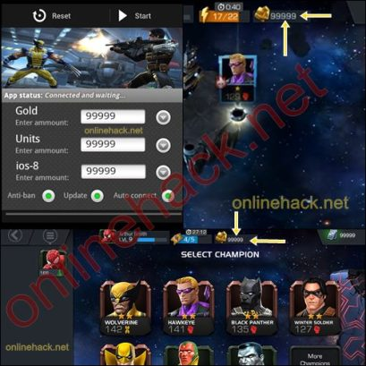 MARVEL Contest of Champions Hack v1.6