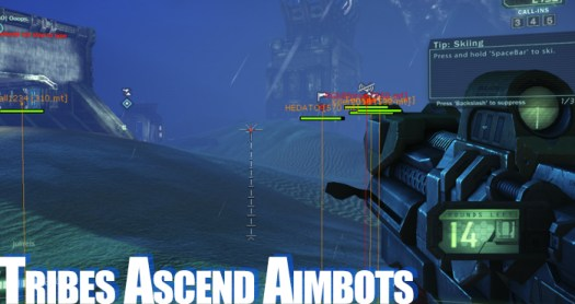tribes ascend aimbots