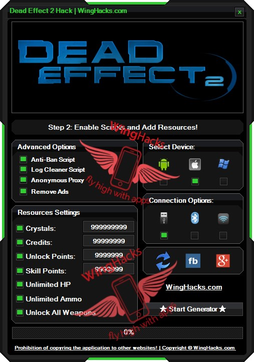 Dead Effect 2 Hack Android iOS Cheat Codes which can give unlimited resources in game