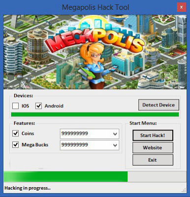 Megapolis cheat resource adder