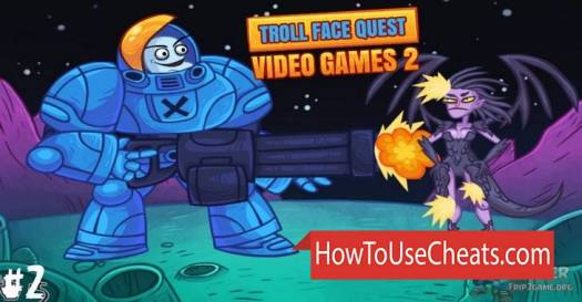 Troll Face Quest: Video Games 2 how to use Cheat Codes and Hack Hints