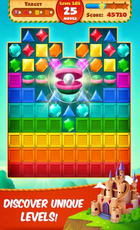Jewel Empire : Quest & Match 3 Puzzle Apk + Mod (Unlocked/ Adfree) for Android