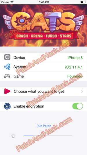 CATS: Crash Arena Turbo Stars Hack - patch and cheats for Money, Crystals and other stuff on Anroid and iOS