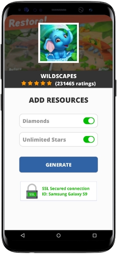 Wildscapes MOD APK Unlimited Diamonds Stars