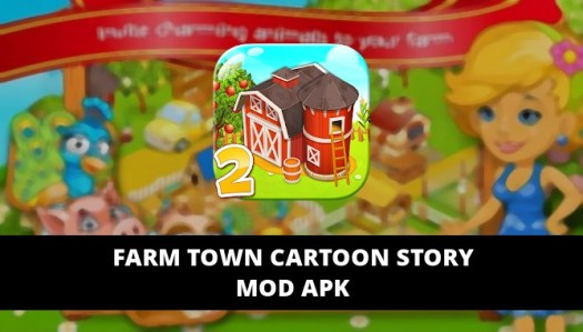 Farm Town Cartoon Story Featured Cover