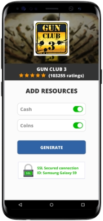 Gun Club 3 MOD APK Unlimited Cash Coins