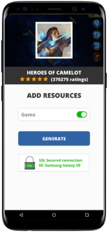Heroes Of Camelot MOD APK Unlimited Gems