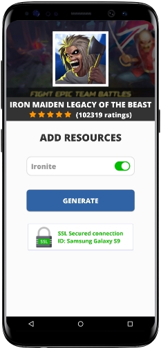 Iron Maiden Legacy Of The Beast MOD APK Unlimited Ironite